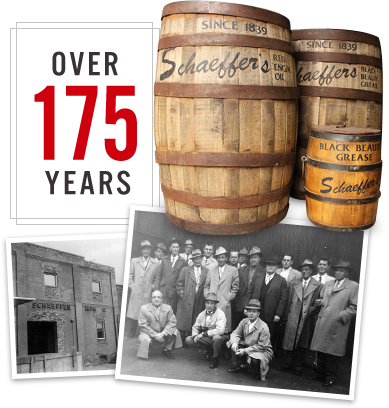 Over 175 Years of Schaeffer Oil